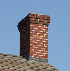 Natural Look Brick Chimney Sealer Stops Water Leaks