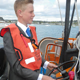 Tom Mumford at the wheel of the ALB - 25 April 2015
