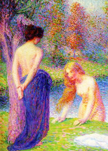Hippolyte Petitjean - Women Bathing