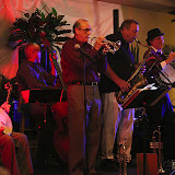 JSOP member Rovena Hillsman sponsored the October Jazz Jam as the perfect way to celebrate her birthday. The event was held at the Hilton Garden Inn Airport Blvd. in Pensacola, and a great crowd turned out. The food and service by the attentive staff pleased the attendees, and the music was swinging! A special treat: guitarist/banjoist Arturo brought a great group together for several Dixieland tunes for a video to promote a new 6-string banjo.