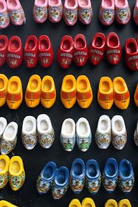 Dutch Shoe Magnets in Amsterdam
