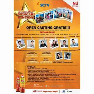 cara mendaftar open casting sinemart mencari bintang 2017