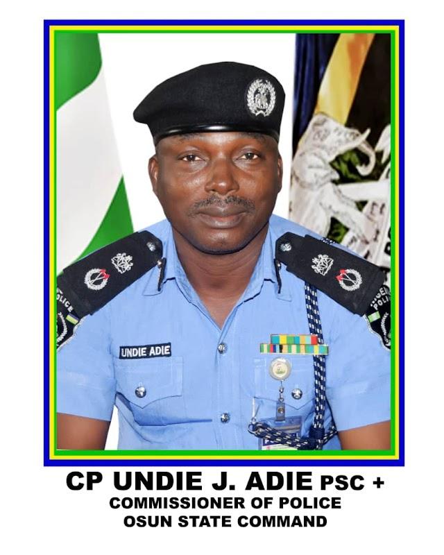 Osun Police Command Confirms Dissolution Of SARS ~Omonaijablog