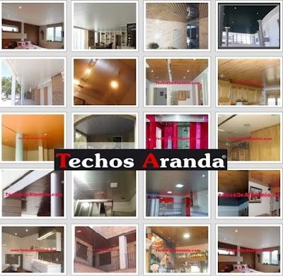 Fabricante techos aluminio Madrid