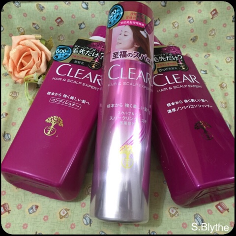 CLEAR淨全新日本Hair & Scalp Expert,每天呈現健康強韌美髮