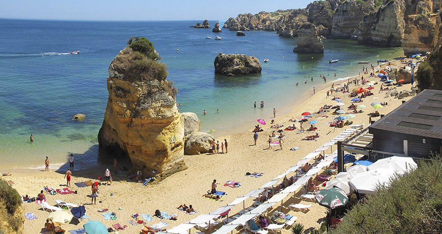 Playa Dona Ana, Algarve