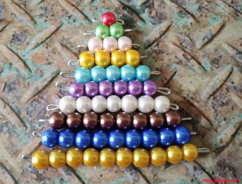 Hasil Bikin DIY Montessori Beads