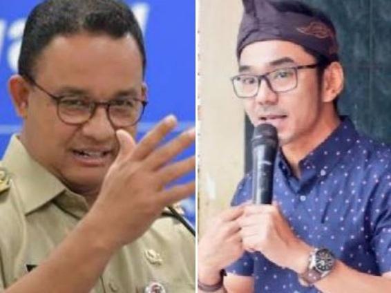 Nyelekit! Jawab Pertanyaan Anies, Uki Singgung Azab Salah Pilih Gubernur
