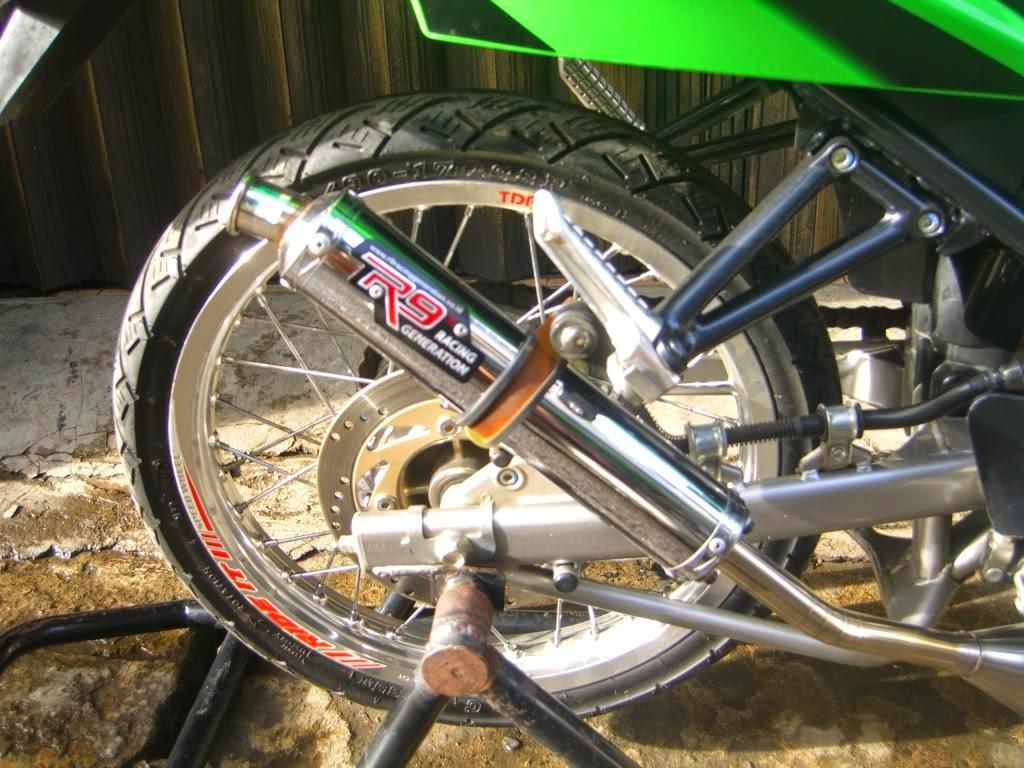 Blog Modifikasi Modif Yamaha Scorpio Velg Jari Jari