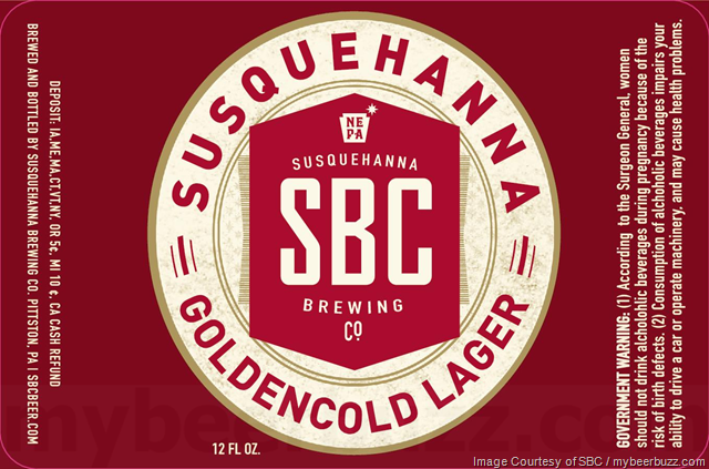 Susquehanna Brewing Updating Goldencold Lager Packaging