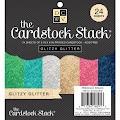 Glitter Cardstock 6x6