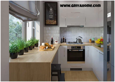 Desain Dapur Minimalis Modern 4
