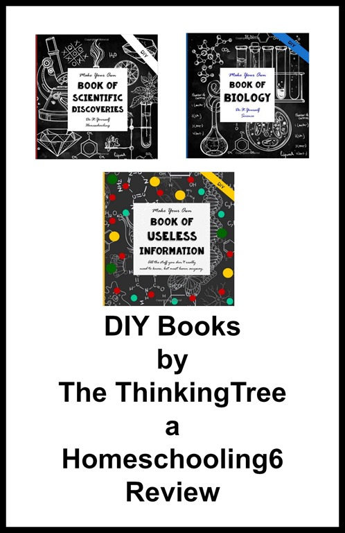 DIY Books a Review by Homeschooling6