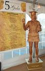 Bronze Student Statue