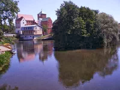 Burg in Rügenwalde/Darlowo, Ostsee-Küste Polen