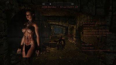 DEM Morakul - Ritual Outfit