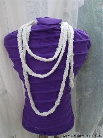 körmöcskével készült nyaklánc