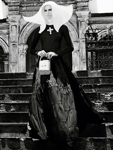 Izabel Goulart para Vogue Brasil Febrero