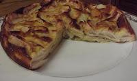Le flan aux pommes et aux poires - recette indexée dans les Desserts