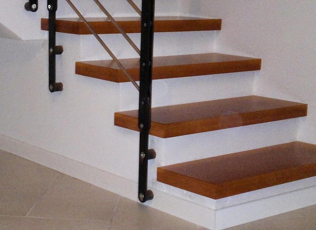 Come rivestire una scala interna cool ad esempio si for Rivestire una scala in legno