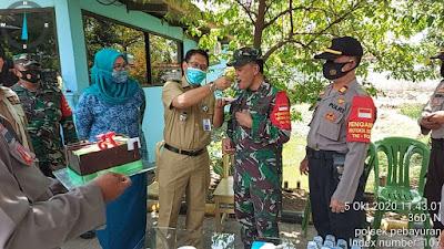 Polsek Dan Pegawai Kecamatan Pebayuran Gruduk Kantor Koramil