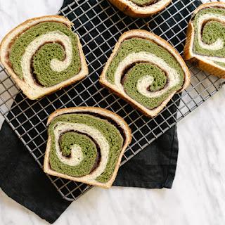 Matcha + Azuki Hokkaido Milk Bread