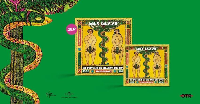 """Esce oggi """"La Favola Di Adamo Ed Eva 1998-2018 Anniversary Edition"""" Il Nuovo CD Di Max Gazzè"""