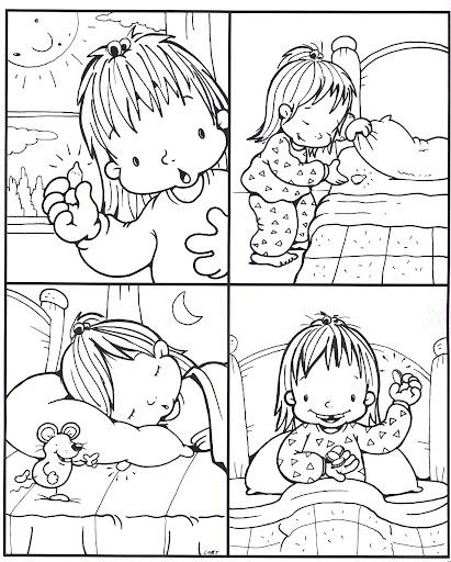 Dibujo raton perez para colorear - Imagui