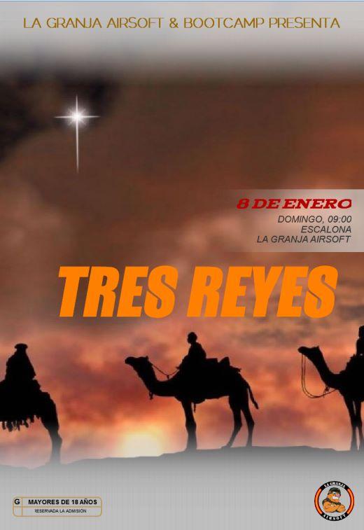 08/01/12 Tres Reyes - Partida Abierta - La Granja Airsoft 3RY