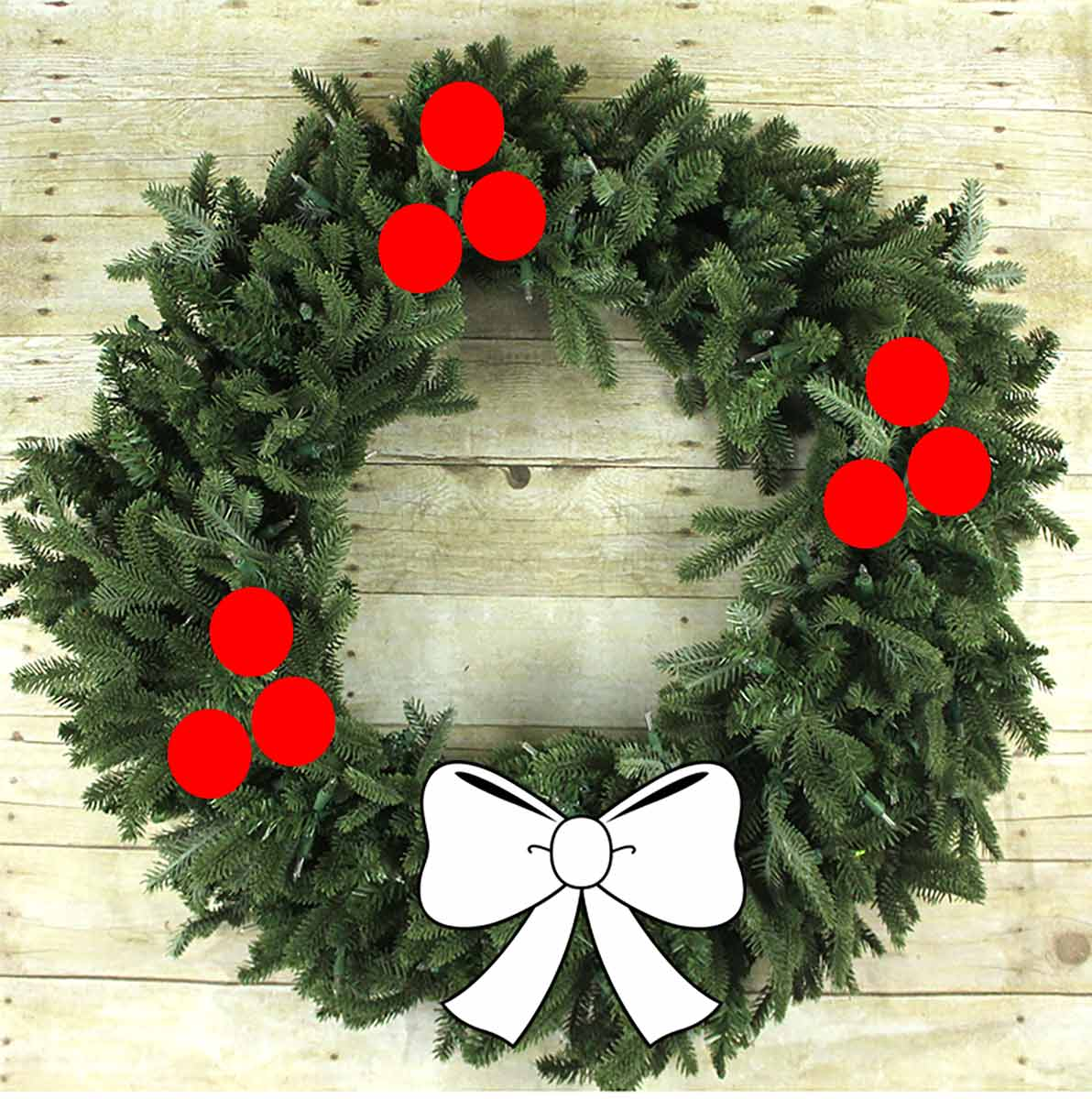 Simple Wreath Styling 1