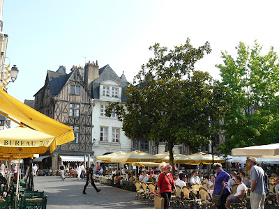 Tours old town Tour de France French Village Diaries