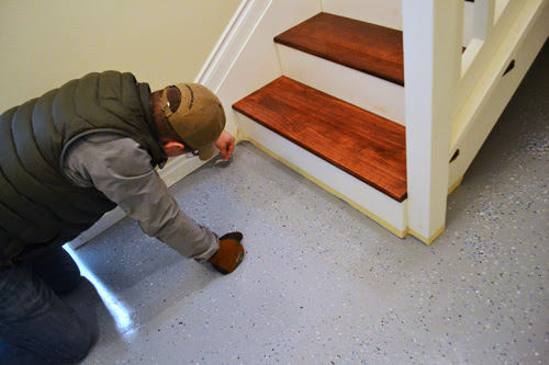 Basement floor epoxy coating ana white woodworking projects for Basement floor paint