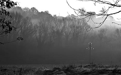 Foggy scenery di Carmelo Vecchio