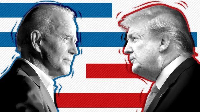 US ELECTION POLLS: BIDEN LEADING OVER TRUMP AHEAD FIRST LIVE DEBATE
