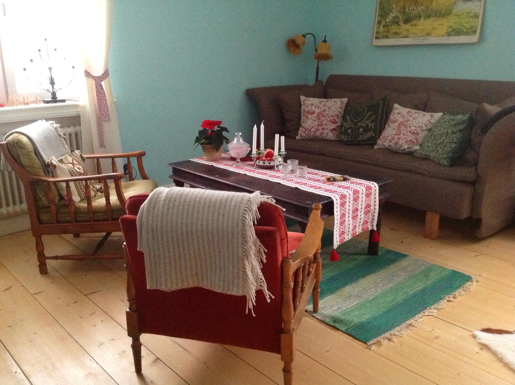 En renlings förundran: torsdagstema vardagsrum