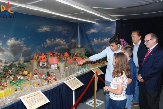 Exposición de Playmobil