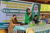 Dihadiri Kades Marioriaja Soppeng, Andi Nurhidayati Gelar Penyebarluasan Perda Koperasi dan Usaha Kecil