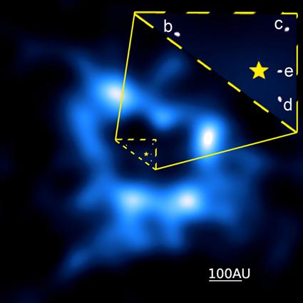 estrela HR 8799