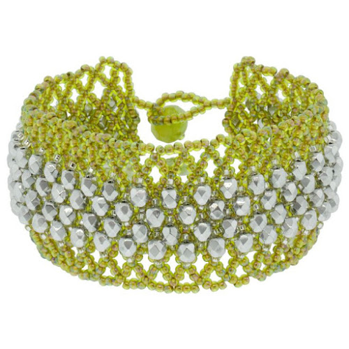 Netted Bracelet Tutorial
