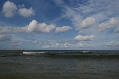 el Mar Baltico - mar en el norte de Polonia
