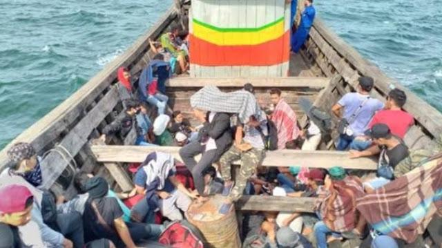 72 TKI Ilegal Asal Malaysia Dibuang di Sungai Ludam Asahan.