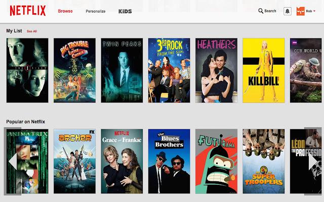 Netflix Jump Scroll