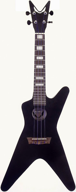 Dean ML black Satin Concert Ukulele