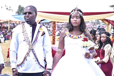 All photos of Johana Ngeno Wedding,Only single MP who married at age 45