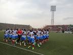 Séance d'entraînement des Léopards de la RDC au stade Tata Raphaël. Radio Okapi/Ph. Nana Mbala
