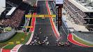 Start of 2012 US F1 GP