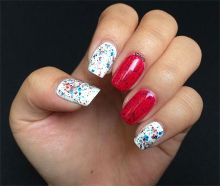 simple 4th of july nail art designs  ideas  styles 2d