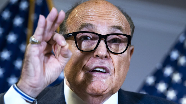 Rudy Giuliani Distances Self, Trump Legal Team From Sidney Powell As She Keeps Appearing At WH