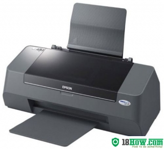 How to reset flashing lights for Epson C92 printer