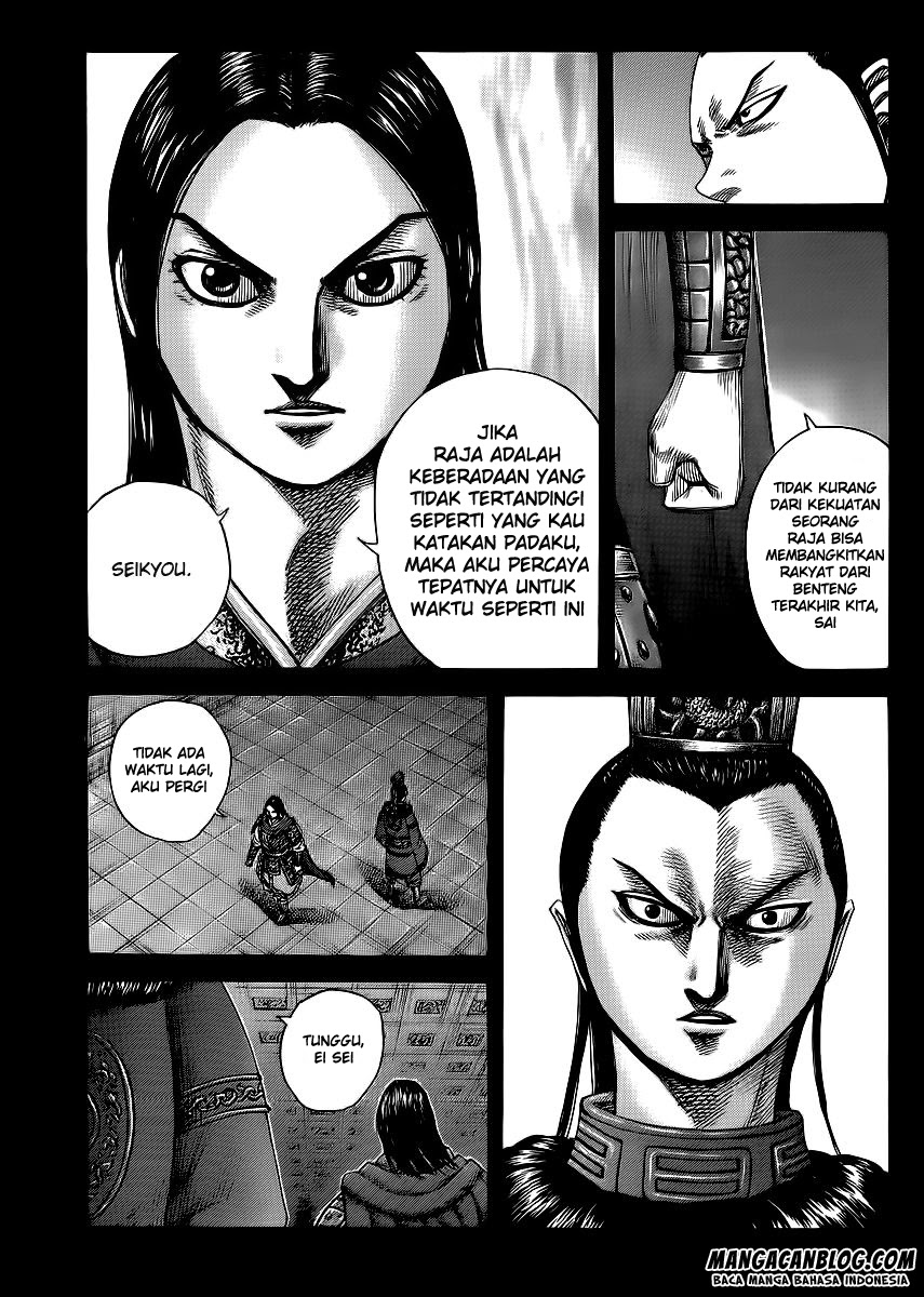 Baca Manga Kingdom Chapter 368 Komik Station